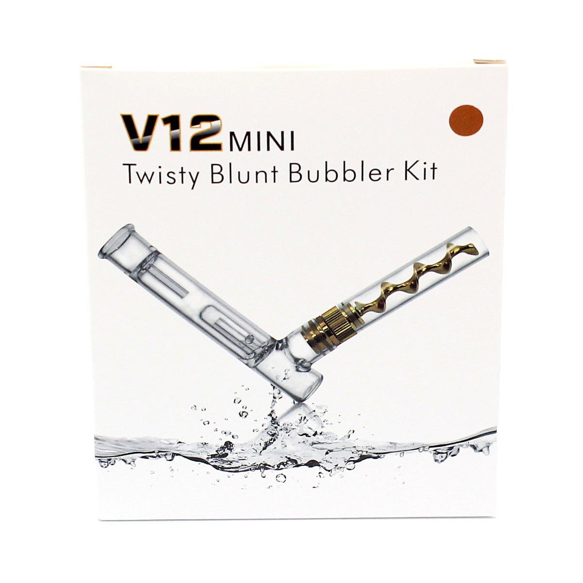 V12 Mini Bubbler - Rose Gold